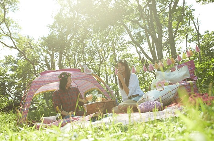 Outdoor Girls Collection フォリッジシリーズ