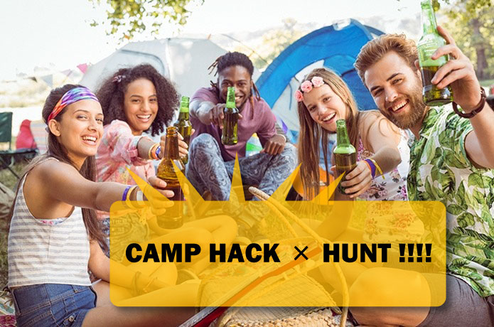 CAMP HACK×HUNTコラボVol.1