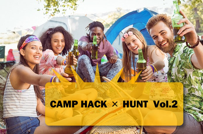 CAMP HACK×HUNTコラボVol.2