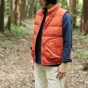 NATAL DESIGN GOOD OLD DOWN VEST3 NANGA アウトドアファッション