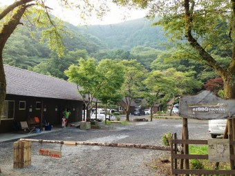 ezBBQcountry cabins & campingの景観