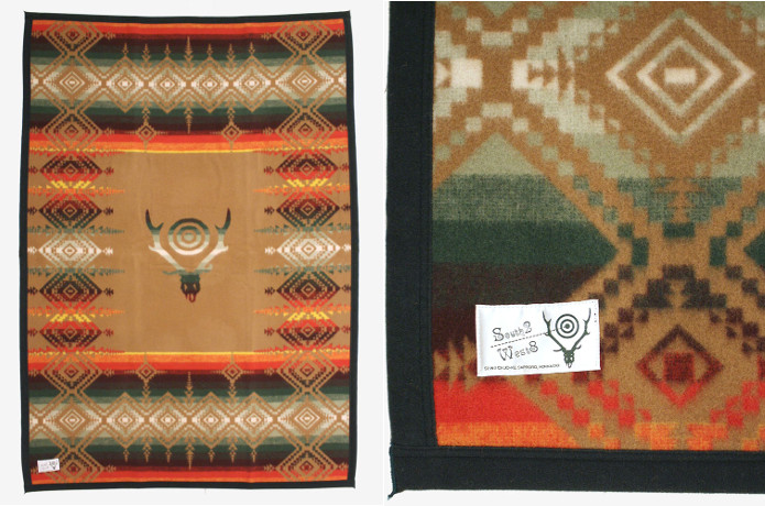 SOUTH2 WEST8 WOOLEN BLANKET ブランケット