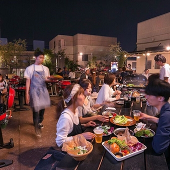ビアガーデン 東京 J.S.BURGERS CAFE(THE ROOFTOP)