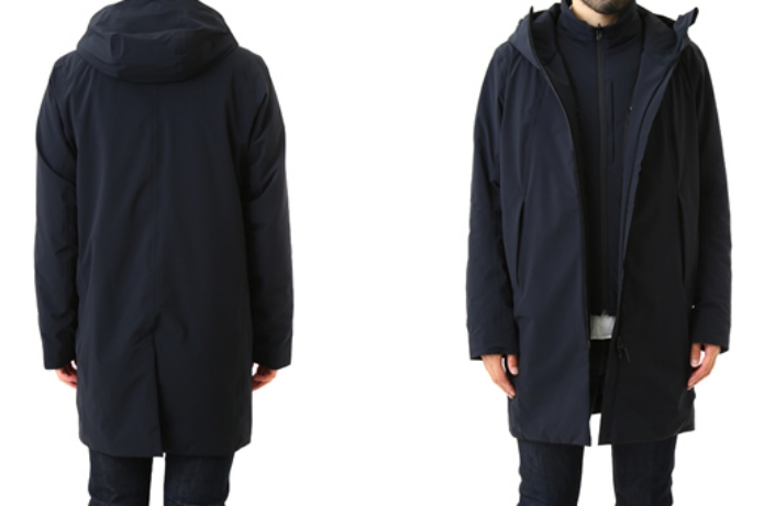 MOBILE THERMO INSULATED 2 IN 1 COAT 水沢