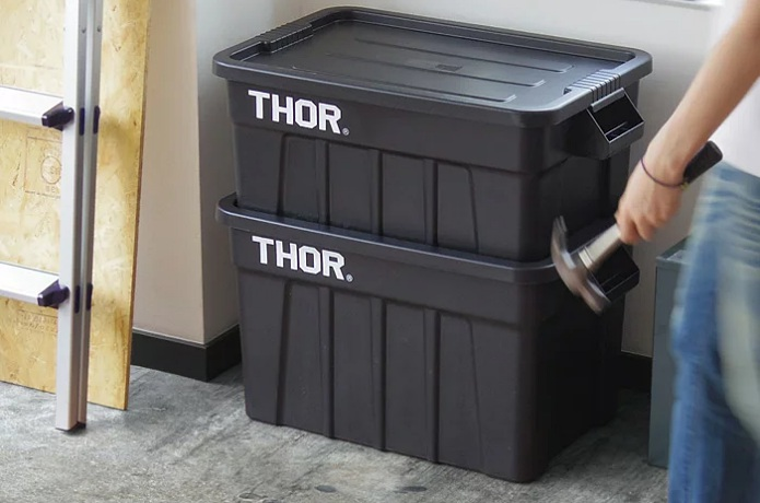 THOR Large Totes With Lid 使用イメージ画像