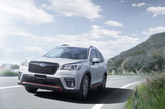 SUBARU FORESTER X-BREAK