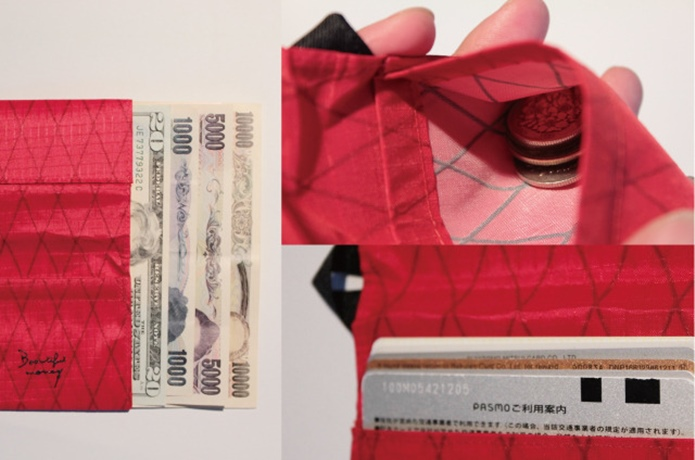 Beautiful money Wallet X-Pac RED①
