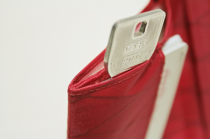Beautiful money Wallet X-Pac RED②